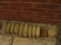 """FREE - Single edging stone 20"""" x 7"""" surplus to requirements"""