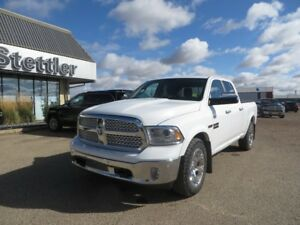 2015 RAM 1500 LARAMIE ECO-DIESEL!! LOADED!!