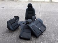 Seats, Volvo V50 - 2007 - front and rear