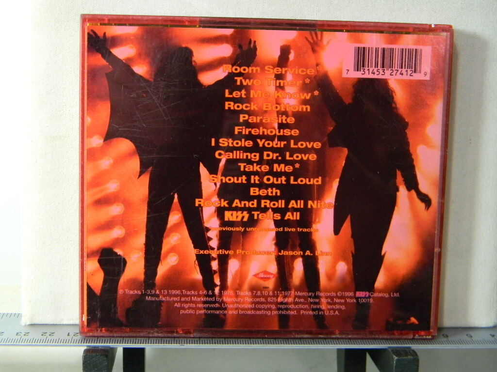 KISS - You Wanted The Best You Got The Best CD 1996 Mercury Coloured Jewel Case - $4.29