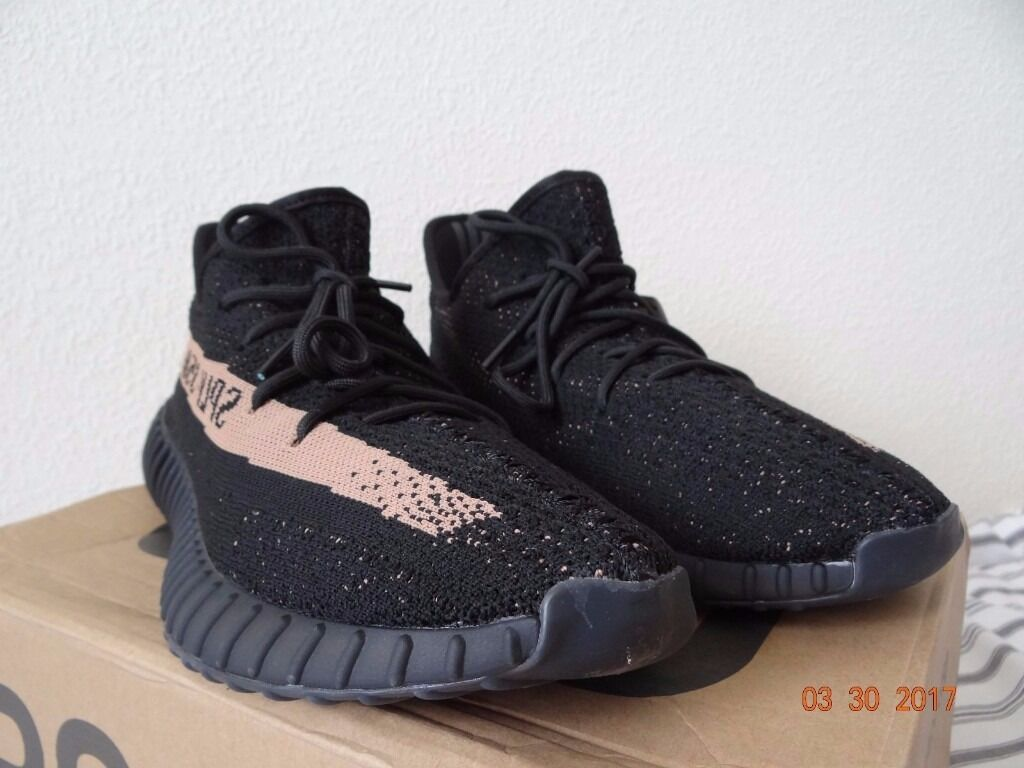 competitive price 445b1 c6e89 ... coupon code for adidas yeezy boost 350 v2 black copper with original  box 04bbd 163ed