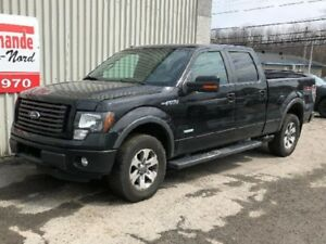 2011 Ford F-150 FX4, AWD, CUIR, BLUETOOTH, BANCS CHAUFFANTS