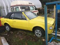 Ford Escort Mk3 Xr3i Convertible Breaking rs turbo rs1600i