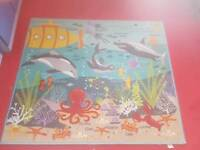Large under the sea rug
