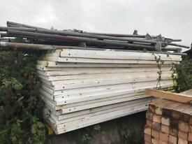 🚧 Solid Hoarding Panels/ Door/ Clips/ Poles ~ Temporary Site Security