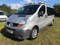 11 RENAULT TRAFIC 2.0 LL29 DCI 115 9 SEATER MINIBUS 1 OWNER FROM NEW COMPANY OWNED VALETED PX SWAPS