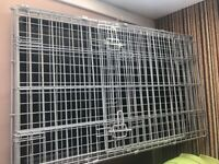 Dog Crate / Cage 36 inch Grey