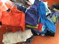 Large bag 12-18month boys clothes