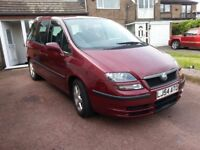 Fiat Ulysse Eleganza, 2.2 JTD, 7 seats. Full electrics package inc. remote sliding doors. 2 Keys
