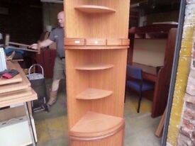 Corner Unit With Built in light In Shelve Delivery Available £10