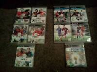 Fifa collection frm fifa 08 til fifa 16