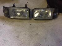 VW T4 Transporter headlights and smoked indicators pair
