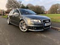 Audi Rs4 Avant FULL SERVICE HISTORY RED LEATHER 2LADY OWNERS 420BHP S3 GTI RS