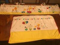 Baby bumper & quilt