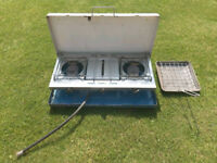 Camping Gas Cooker 2 Hob Burner