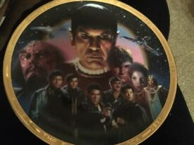 Star Trek III search for Spock collectors plate