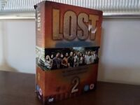 LOST THE COMPLETE SECOND SERIES 7 DISC BOX SET