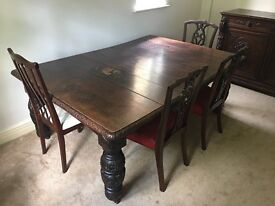 Large 19thCentury Antique Dining Table