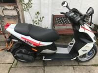 Piaggio 50 cc scooter. Very low miles