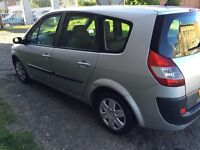 LOW MILEAGE 55K RENAULT GRAND SCENIC 2005 5DR 7 SEATER MOT 14/02/2018 GOOD CONDITION