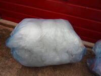 bubble wrap 1 x large bag of clean mixed bubble wrap