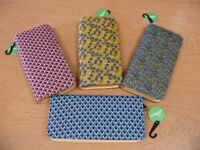 Brand new ladies' fabric purse/wallets