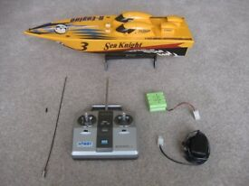 Hobby Engine 'Sea Knight' model speedboat