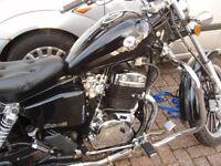 125cc AJS Motorcycle