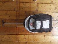 Tog 24 Boardwear grey rucksack daysack backpack on wheels