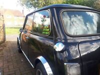 classic mini thirty in black with sunroof 1 of 100 madr