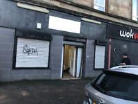 Shop to let in Calder street Glasgow