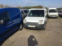 57 reg ford connect in white good driving van ready for work long mot bargain any trial welcome px ?
