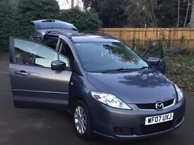 1 previous owner MAZDA5 2.0 D TS2 5dr 7 SEATS 2007 IDEAL FAMILY New 12 months MOT