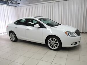 2014 Buick Verano SEDAN WITH LEATHER INTERIOR, SUNROOF, BACKUP C