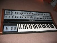 'Trilogy' analogue synthesizer