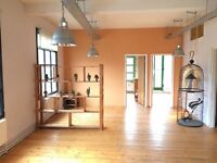 CREATIVE STUDIO SPACES & WORKSPACE available in STOKE NEWINGTON, HACKNEY.