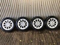 "Genuine 16"" Audi A3 SE Alloy Wheels - 5x112 - Will fit VW, Skoda, Seat"