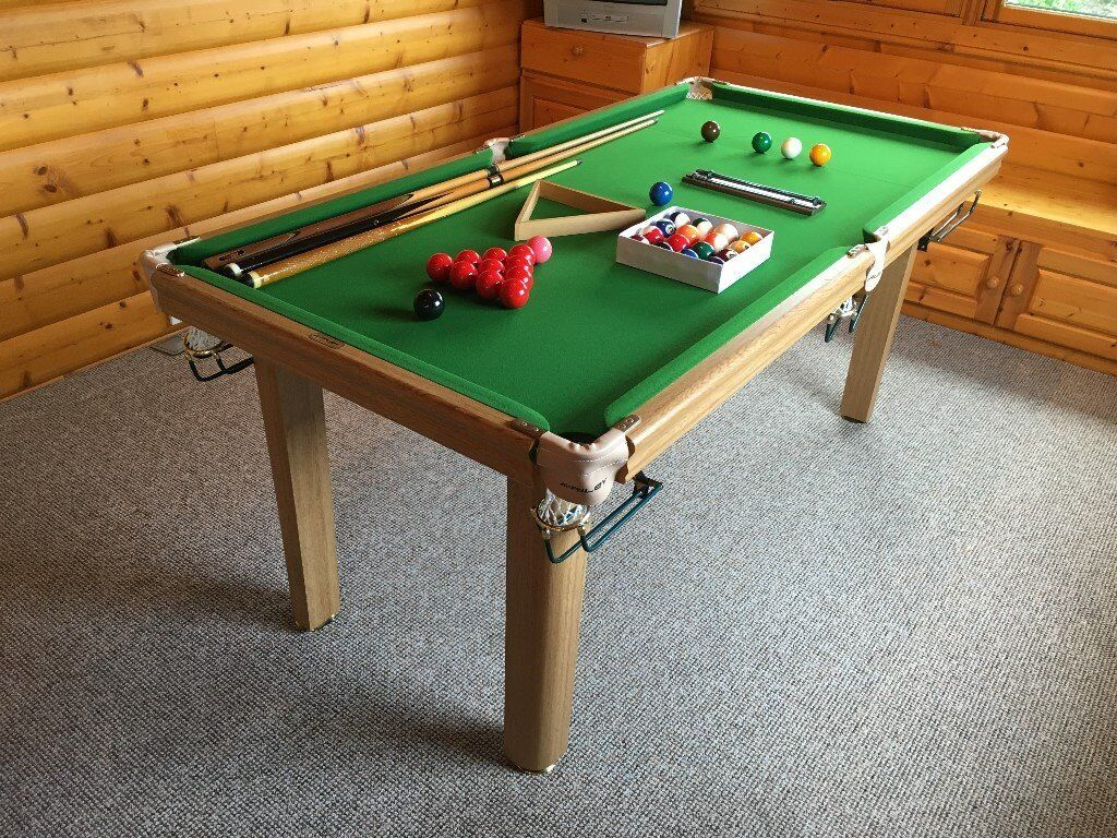 snooker pool table 6 39 x 3 39 riley slate bed