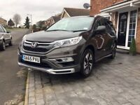 2015 HONDA CRV EX I-DTEC AUTOMATIC 1.6 DIESEL ONLY 37,000 MILES AND ONE OWNER!!!