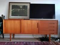 Swedish mid century teak sideboard - sold pending collection