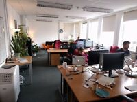 Freelancer workspaces, Central Oxford, in quiet and peaceful office w/ broadband £260 pcm incl