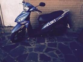 Suzuki adress nearly new 125cc
