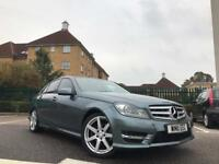 2011 Mercedes C200 C220 CDI AMG Sport Automatic Auto 7G Facelift Blue Efficiency not C250 C350