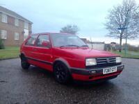VW GOLF MK 2 future Retro classic