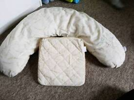 Breast Feeding Nursing U Pillow and Pregnant Pillow for Back Support