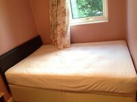 Windsor double bed with 2 drawer divan base