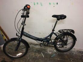 Raleigh Swift folding bike, good condition