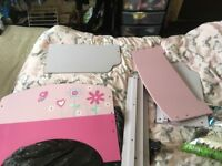 Pink toddler bed with brand new mattress nearest offer