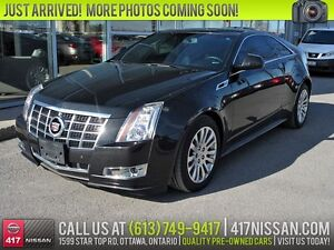 2014 Cadillac CTS Performance | Sunroof, Leather, Rear Camera