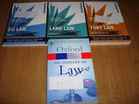 Bundle of 9 Law Books